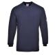T-shirt z długimi rękawami, trudnopalny, antystatyczny FR11